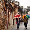 Bukchon in the rain :