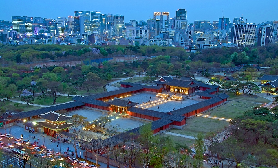 Changgyeonggung from above