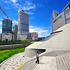 Dongdaemun Design Plaza & Park : Zaha Hadid's Dongdaemun Design Plaza & Park, scheduled for completion in 2011.