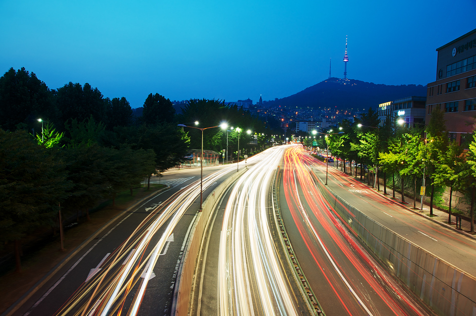 Road to Namsan Third Tunnel