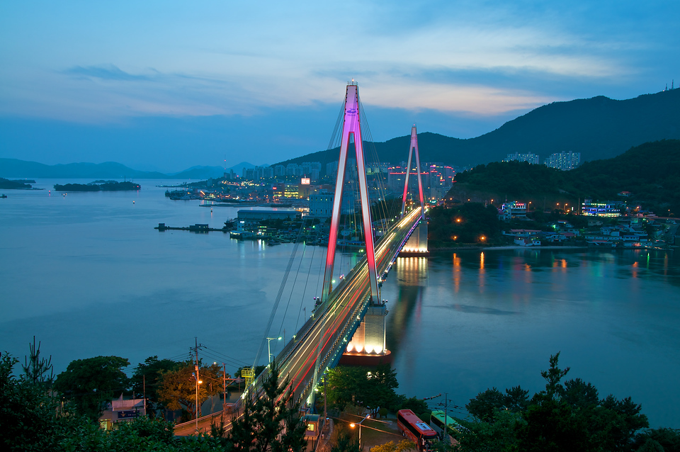 Dolsan Bridge, Yeosu